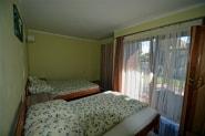 Sypialnia w domu letniskowym dla 2 - 4 osób w Sarbinowie